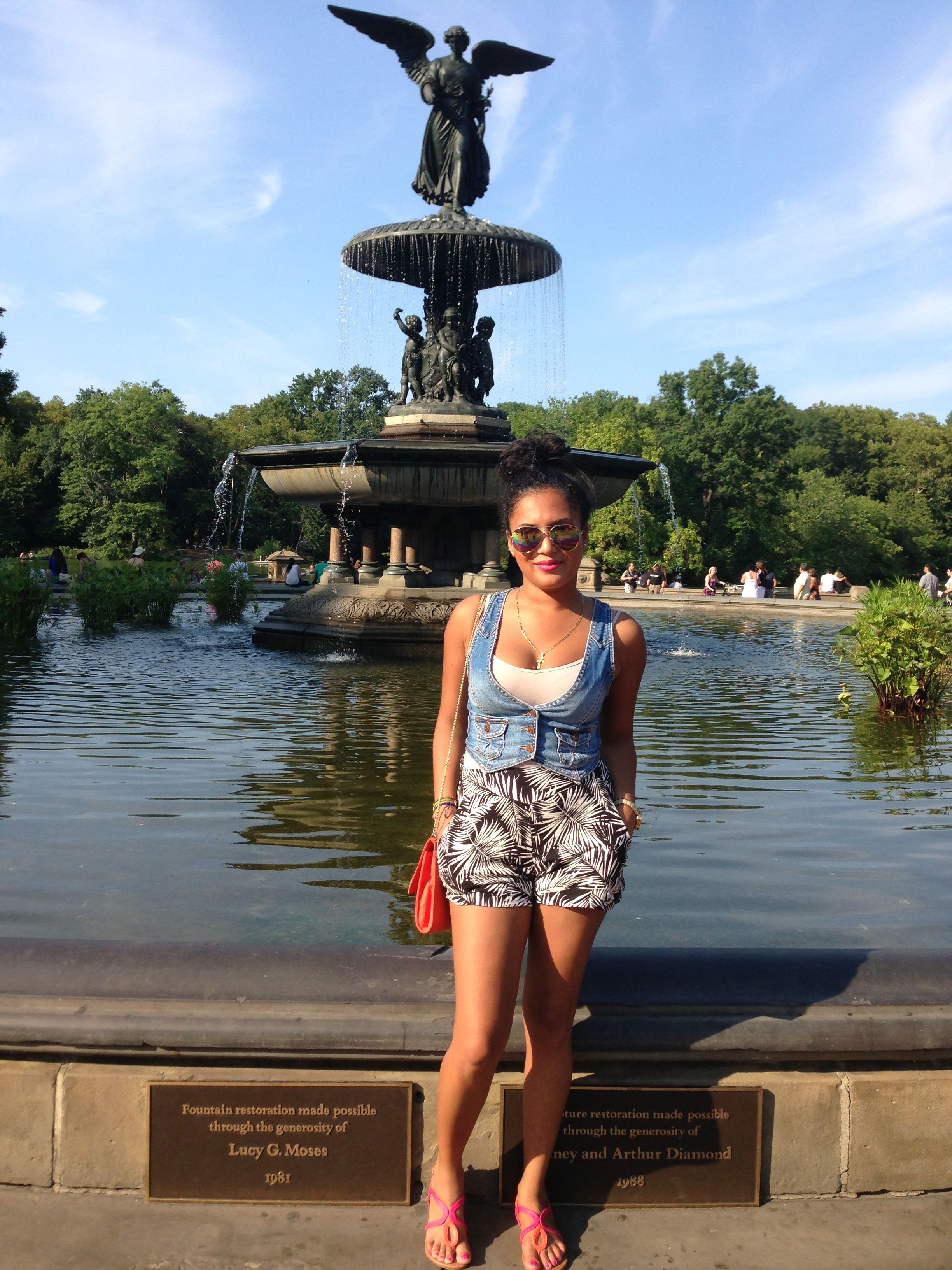 Our Butterfly @mari_posa_08 explores Central Park