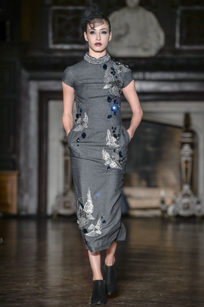 """Love is a Battlefield"" collection. Art Hearts Fashion, ""Refectory"" at the High Line Hotel"